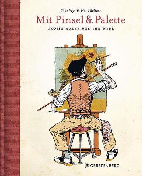 Mit Pinsel und Palette