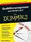 [Rainer Weltring: Qualitätsmanagement nach ISO 9001:2015 für Dummies]