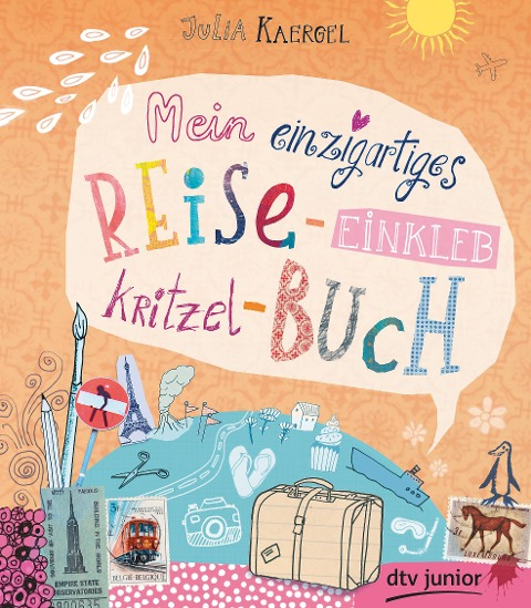 Mein einzigartiges Reise-Einkleb-Kritzel-Buch