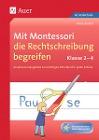 [Anne Eicken: Mit Montessori die Rechtschreibung begreifen 2-4]
