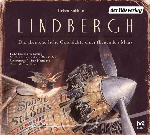 CD - Lindbergh - Die abenteuerliche Geschichte einer fliegenden Maus