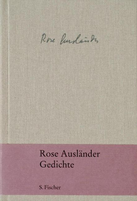 Gedichte Rose Ausländer Helmut Braun Buch7 Der