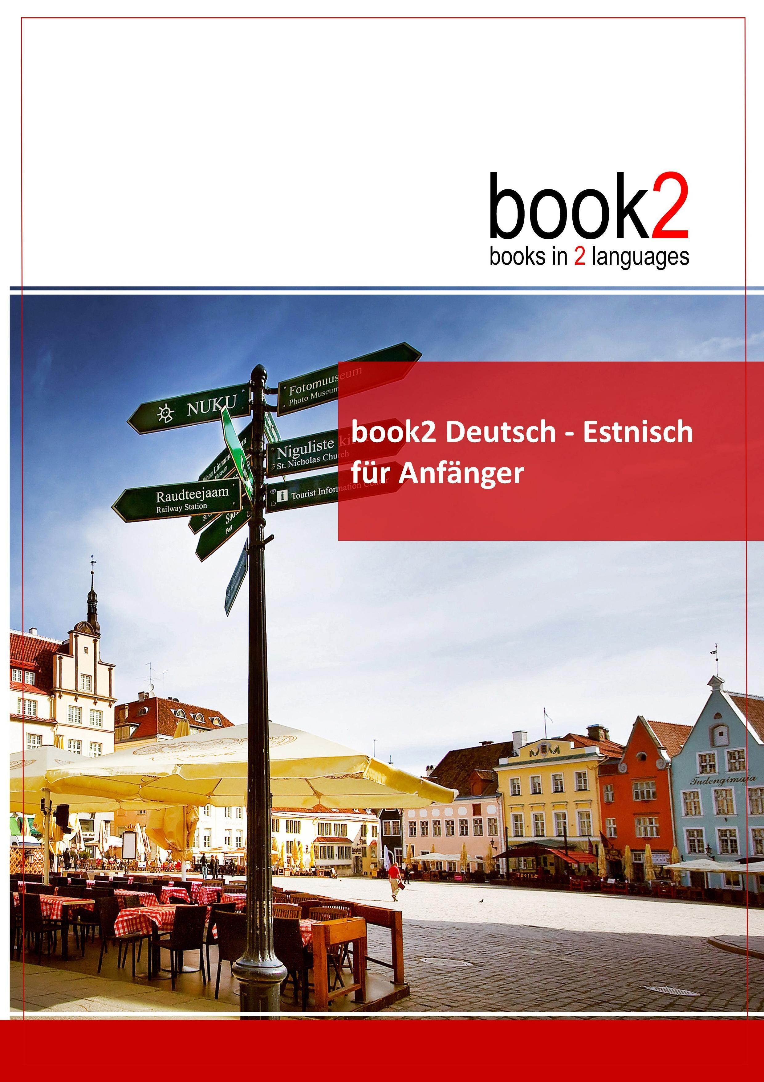 book2 Deutsch - Estnisch  für Anfänger