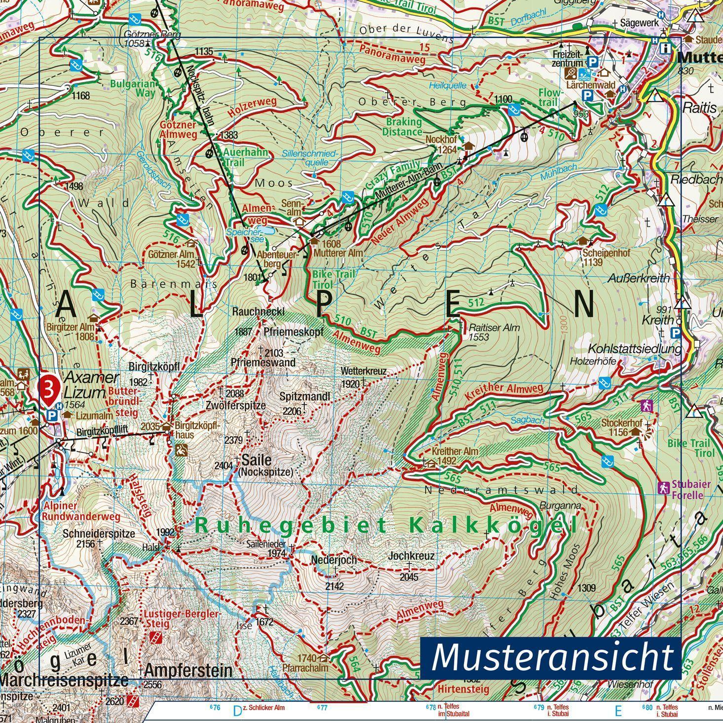 Salzkammergut Karte.Nordliches Salzkammergut Wolfgangsee Attersee Traunsee 1