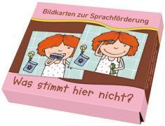 Bildkarten zur Sprachförderung: Was stimmt hier nicht?