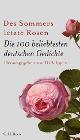 [Des Sommers letzte Rosen]