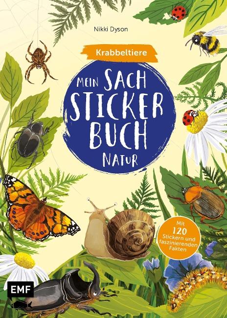 Mein Sach-Stickerbuch Natur - Krabbeltiere