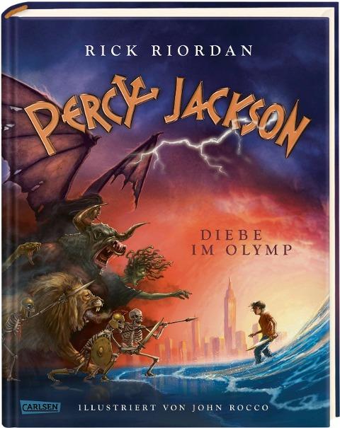 Percy Jackson - Diebe im Olymp (farbig illustrierte Schmuckausgabe) (Percy Jackson 1)